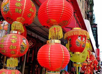 Chinatown at San Francisco