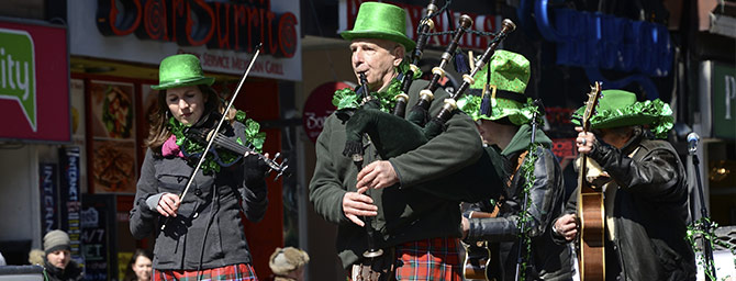 San Francisco Events - Saint Patrick's Day Parade & Irish Festival