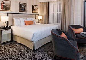Deluxe King room at The Inn at Union Square San Francisco - A Greystone Hotel, San Francisco
