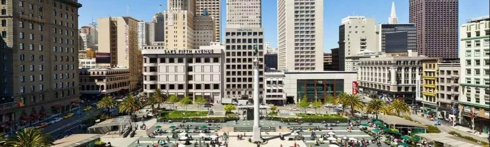 Location of The Inn at Union Square San Francisco - An Oxford Hotel, San Francisco