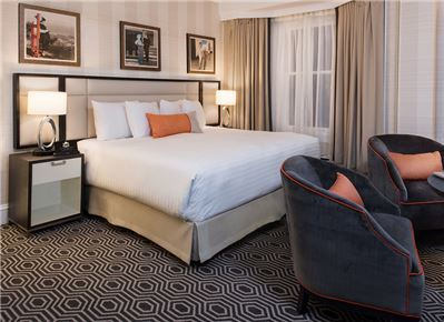 The Inn at Union Square San Francisco - A Greystone Hotel, San Francisco Parlor Suite